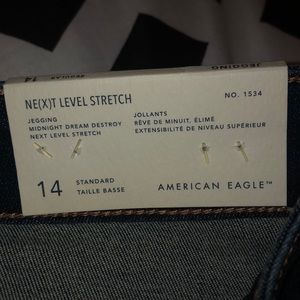 American Eagle size 14 brand new  jeans